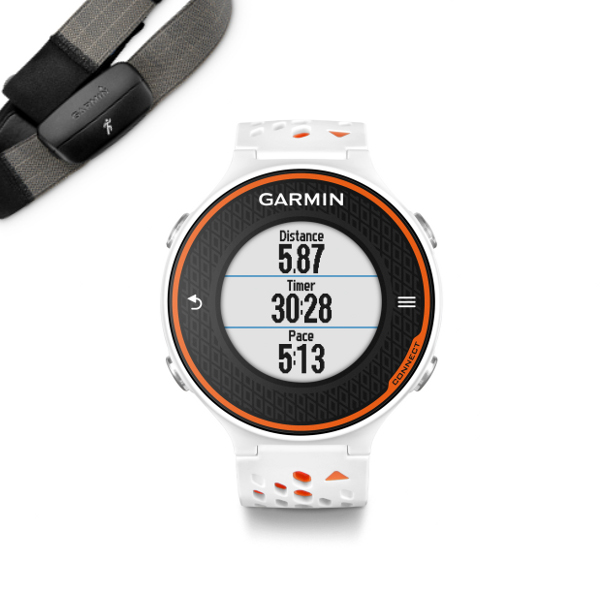 Forerunner 620 HRM-Run White Orange 1dc26164186