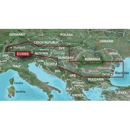 Bluechart G3 Vision Veu509s Plavebna Mapa Mapa Dunaja