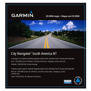 City Navigator South America NT, microSD/SD
